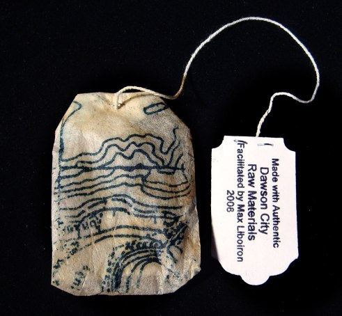 Detail of teabag