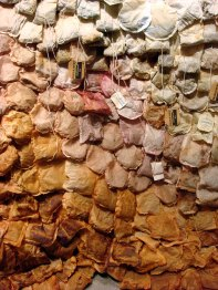 Detail of tea bags
