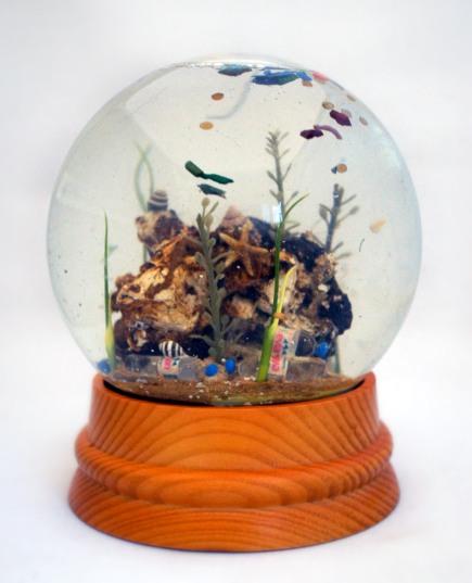 Large sea globe